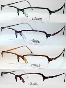 Silhouette 1517 2845 10 6080 6081 6088 6089 Eyeglasses Frame Flexible Glasses