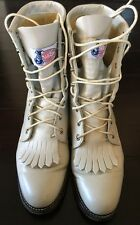 Justin Ladies Leather Boots Made In The USA Size 6C Style L519