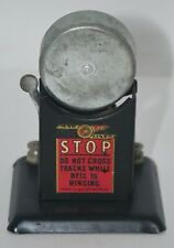 Vintage Louis Marx Mar Lines Railroad Crossing Bell (No Sign) O Scale