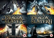 Dawn of The Dragon Slayer Complete Movie Film Collection Part 1 AND 2 NEW R2 DVD