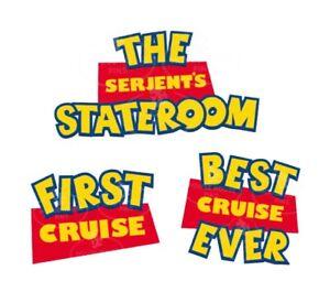 Disney Cruise Line Door Magnet Personalised First Cruise Magic At Sea