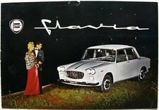 LANCIA Flavia Original Cars Sales Brochure 1962 #8799044