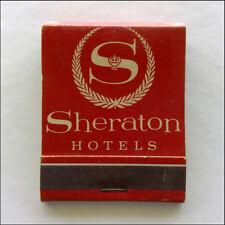 Sheraton Hotels Coast to Coast U.S. Hawaii Canada Overseas Matchbook (MK45)