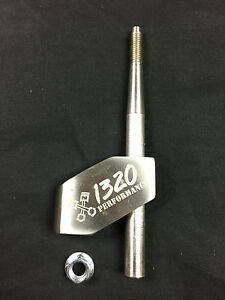 1320 Performance adjustable stainless steel shifter extender 12x1.25 M12 x 1.25