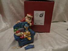 JIM SHORE DISNEY SHOWCASE COLLECTION Santa & Heuy, Duey & Louie 4039038