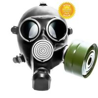 Size-3 Large USSR Soviet Russian Military Gas mask GP - 7 New + 40 mm Filter