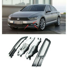 Fit For 16 Passat B8 EU Front Right Left Bumper Grille Grill With Fog Lamp Light