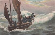 Carte postale MARINE BATEAU 20 LL voilier de pêche pêcheurs