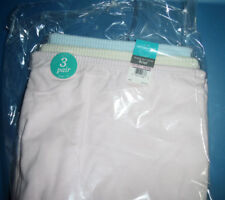 3 Vanity Fair Panty Brief Set Cotton Perfectly Yours 10 3XL NWT Pink Yellow Blue