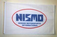 NISMO Logo Car Show Racing Garage Wall Decor 3x5 Flag Banner Nissan Motorsports
