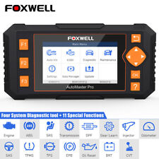 Foxwell NT634 Automotive OBD2 Diagnostic Scanner ABS SRS TPMS EPB Oil Reset DPF