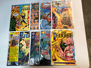 The Ferret (1993) #1 2 3 4 5 6 7 8 9 10 1-10 (VF/NM) Complete Set Malibu