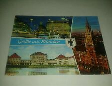 Vintage 1972 Postcard Munich Germany Olympic Games XX Olympiade