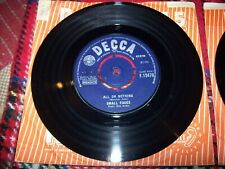 small faces - all or nothing - understanding...1966 decca 45