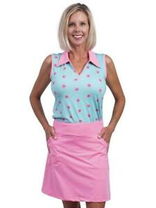 Anaclare Logan Pink Golf tennis Skort ladies small or Medium NEW NWT
