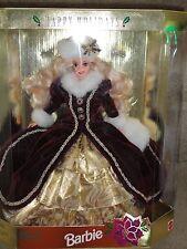 1996 Happy Holiday Barbie Doll MIB