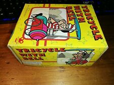TIN TOY MS 710 Tricycle with Bell Clockwork RED CHINA VINTAGE RARE