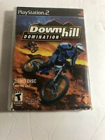 Downhill Domination Playstation 2 PS2 Promotional Demo Disc w/ Sleeve