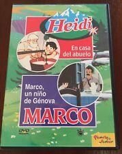 HEIDI EN CASA DEL ABUELO - MARCO UN NIÑO DE GENOVA - VOL 2 - DVD - 60 MIN - RBA
