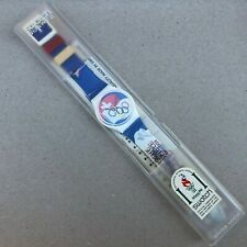 Swatch Olympic Special 1994 ST MORITZ 1928 GZ134 - Nuovo / Brand New - Vintage