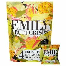 Emily Fruit Crisps Crunchy Pineapple 15g x - 4 per pack (0.13lbs)
