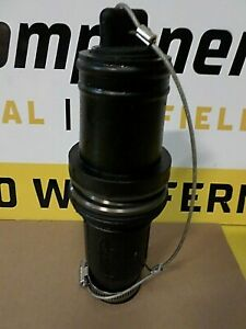 CROUSE HINDS COOPER ROUGHNECK A201106-1 MALE PLUG INSULATOR BLACK