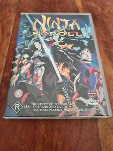 Ninja Scroll DVD Anime Action Manga Kôichi Yamadera Emi Region 4 Australia