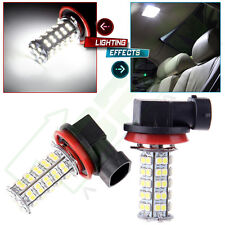 2x 68 SMD Car Xenon White LED H8 H11 Fog Day Driving Bulb Light Lamp 12V US