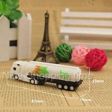 Cute Oil Tank Truck Model USB 2.0 Memory Stick Flash Pen Drive 16GB U Disk Gift
