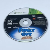 Family Guy: Back to the Multiverse (Microsoft Xbox 360, 2012) Disc Only Tested