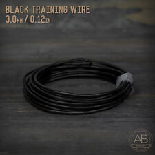 American Bonsai Black Aluminum Training Wire - 3.0mm - 100 grams - 17ft - 100g