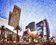 Gucci In Vegas #1 Pop Art Canvas 16 x 20