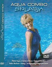 Aqua Combo Splash Water Workout DVD Karen Westfall New Exercise Aquatic Fitness