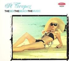 ST TROPEZ  The Sex The Beach The Music, Various Artists  **NEW CD**