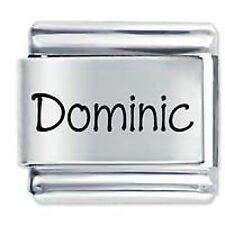 DOMINIC Nome Daisy Charm da JSC Fits Classic Size Italian Braccialetto Ciondoli