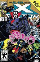X-Factor Comic Issue 78 Modern Age First Print 1992 Peter David Stroman Peterson