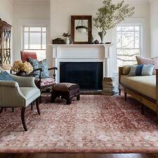 Extra Large Beige Floor Rug Traditional Vintage Antique Retro Carpet 240*330cm