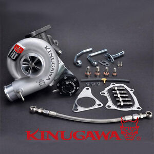 Kinugawa Billet Turbo For SUBARU Impreza WRX STI TD05H-18G 8cm & Adjustable W/G