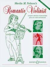 ROMANTIC VIOLINIST Violin & Keyboard Nelson