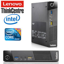 Lenovo Thinkcentre M93p Tiny Core I7-4765T 500GB 8GB Série Mini PC Bureau