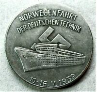 WW2 GERMAN COMMEMORATIVE COLLECTORS REICHSMARK COIN '39...
