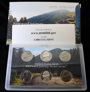 2004 Westward Journey Nickel Series Uncirculated Coin Set