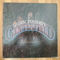 John Fogerty  Centerfield 1985 NM Vinyl LP VG+ Record Cover WB 1-25203