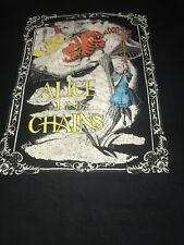 Alice In Chains Layne Staley Rare Vintage OOP PEARL JAM Tour Shirt AIC Grunge