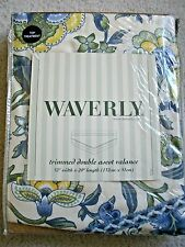 Waverly Imperial Dress Porcelain Double Ascot Valance, New In Package
