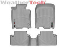 WeatherTech Floor Mats FloorLiner for Acura TSX - 2009-2014 - 1st/2nd Row- Grey