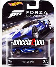 17 FORD GT - Forza Motorsport - 2016 Hot Wheels Retro Entertainment D Case