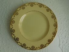 Gold Rimmed Decorative Plate. A Frank Buckley Production.