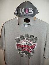 Men's OS Boston Red Sox Champions Hat & XL T Shirt