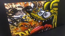 Rat Fink Art in 3-D poster leather like feel size 11x17